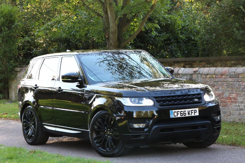 LAND ROVER RANGE ROVER SPORT 2017MY - 3.0 SDV6 HSE - 21INCH WHEELS - STEALTH PACK - EURO 6 ULEZ  2016