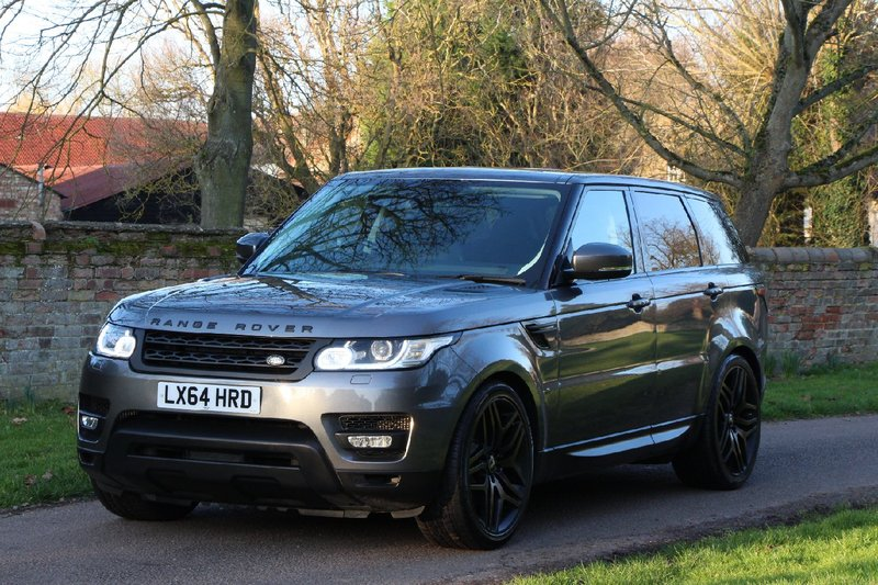 LAND ROVER RANGE ROVER SPORT HSE 3.0 SDV6 - 22 INCH WHEELS - STEALTH PACK - RED CALLIPERS 2014
