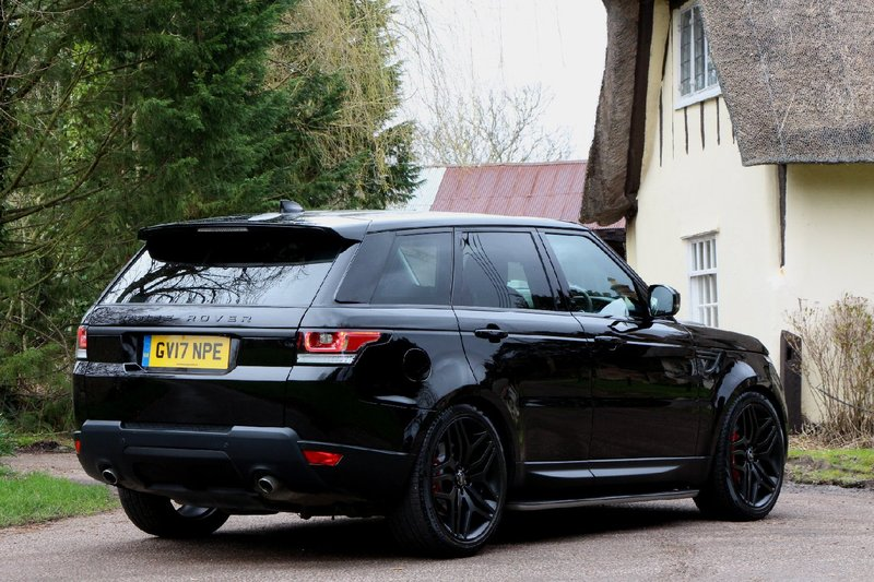 LAND ROVER RANGE ROVER SPORT 3.0 SDV6 HSE - 22 INCH WHEELS - STEALTH PACK - SIDE STEPS - EURO 6 ULEZ  2017